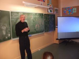 Le Dr Guépin a su nous expliquer avec des mots simples la maladie de Tao et Lilas.